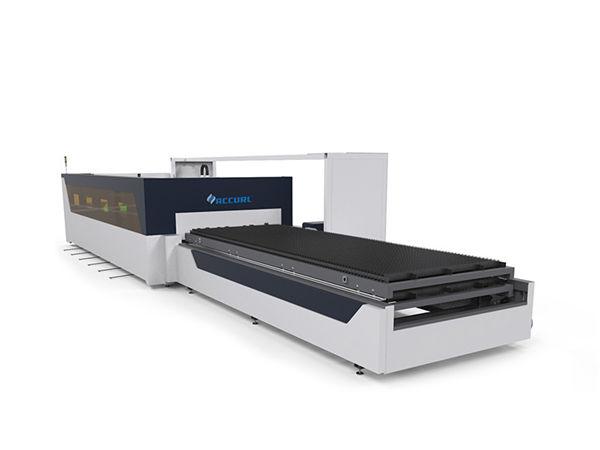 دستگاه برش لیزر لوله ای از جنس فولاد کربن 4 میلی متر با دستگاه لیزر raytools