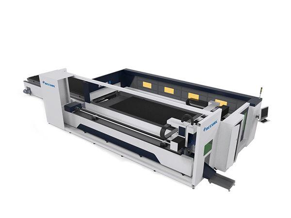میز تیغه cnc دستگاه برش لیزری صنعتی با ثبات در حال اجرا و نگهداری کم