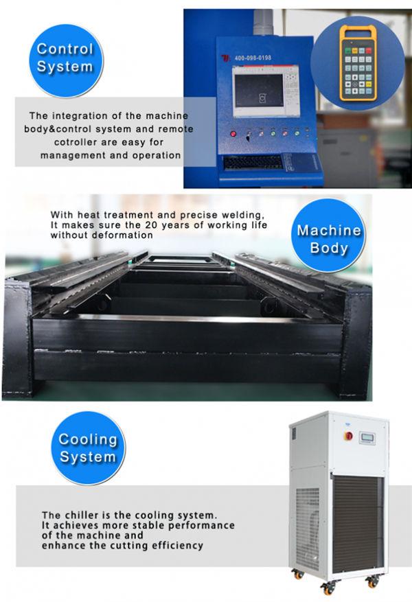 دستگاه برش لیزر فیبر کربن تکرار دقت