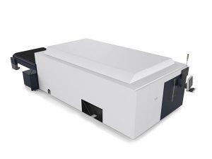 ورق / لوله های فلزی دستگاه برش لیزری صنعتی سیستم دو موتور بالا پایان cnc