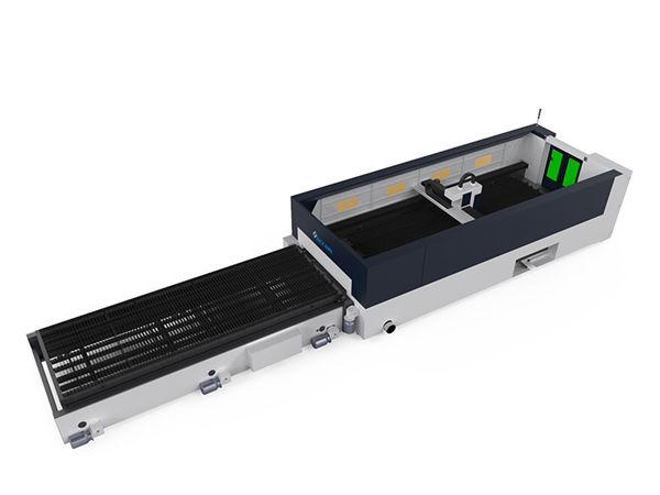 دستگاه برش لیزر فیبر فلزی با دقت بالا سر برش 500 لیتری raycools