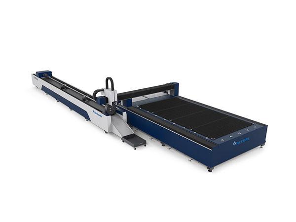 لوله های فلزی 3D دستگاه برش لیزر / دستگاه برش لوله خودکار