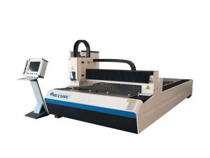 دستگاه برش لیزر فیبر فلزی خنک کننده برای برش فلز 1 - 3 میلی متر
