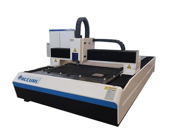 دستگاه برش لیزری فیبر 2000w که در صفحه فولادی / صفحه آهنی خفیف استفاده می شود