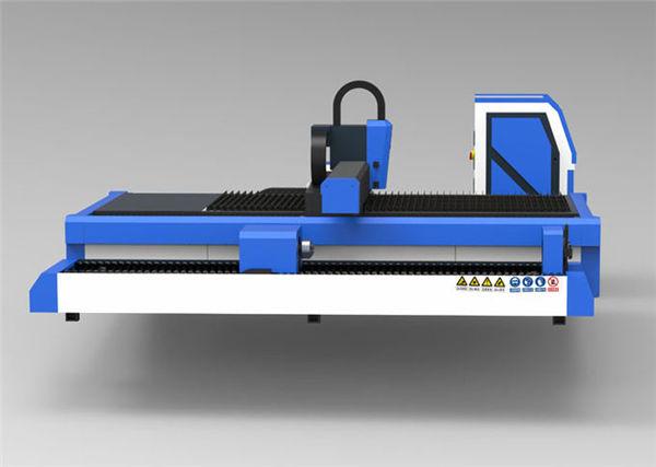 پارامتر فنی: کنترلر منطقه کار 3000 * 1500 میلی متر + کنترل کننده لیزر لیزری لیزر فیبر منبع لیزر فیبر منبع 1500W طول موج 1070nm ± 10nm لیزر هد اختیاری لیزری و رک آلمان راهنمای ریلی تایوانی HIWIN دقت موقعیت یابی دقیق ≤ 4 0.04mm ضخامت ضخامت 1-20mm سرعت برش 40000mm / دقیقه (مطابق با مواد) ولتاژ کار AC220V / 110V ± 10٪ 50HZ / 60HZ حداقل خط عرض mm0.12 mm انتقال Yaskawa servo 850W + کاهش دهنده FASTON Z محور Yaskawa 400W + ترمز ساختار خنک کننده آب خنک کننده 10 میلی متر ضخامت جوش لوله فولادی ، آلیاژ آلومینیومی منازل مصرف برق 7.5 کیلو وات
