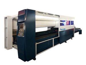 ورق فلزی دستگاه برش لیزری صنعتی 500w سیستم محافظ محفظه
