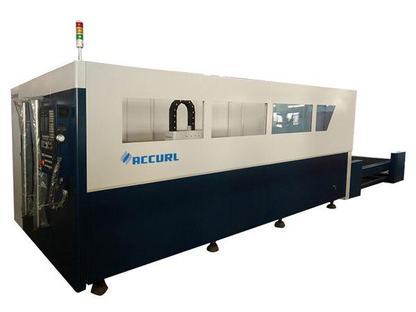 دستگاه برش لیزر فلزی 700-2000w با خنک کننده آب