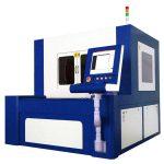 دستگاه برش لیزری فیبر 380v 50 / 60hz برای قطعات فلزی با دقت بالا