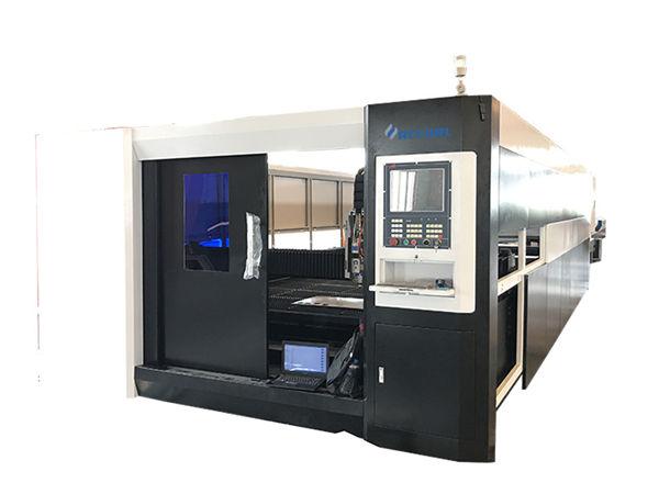 دستگاه برش لیزر فیبر فلزی ورق فلز برای فولاد ضد زنگ