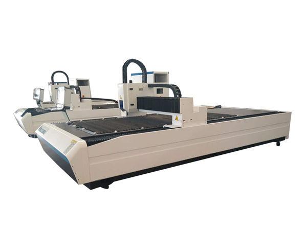 تجهیزات برش لوله لیزر دوگانه ، دستگاه برش لوله لیزری حرفه ای CNC