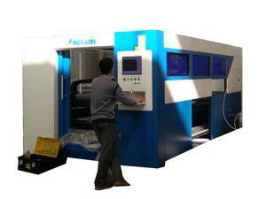 دستگاه برش لیزر فیبر نوری 2kw سرعت قابل تنظیم برای لوله فلزی