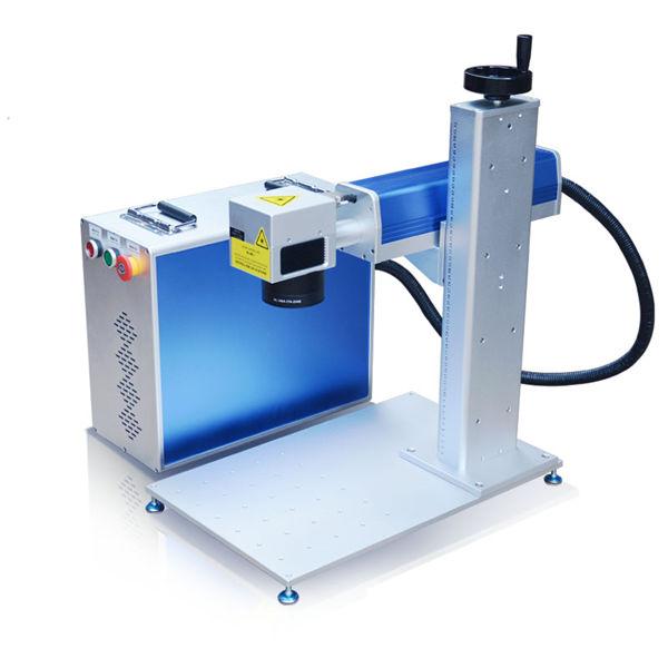 دستگاه حکاکی لیزر فیبر طراحی بدن دستگاه 10 متر